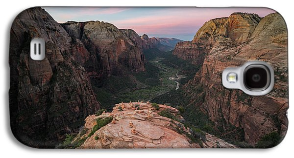 Sunrise From Angels Landing Galaxy S4 Case by James Udall
