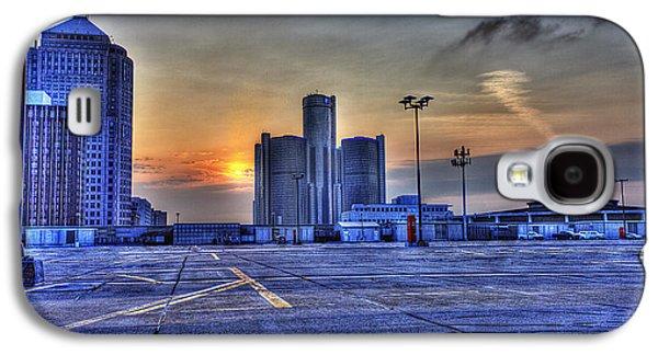 Sunrise In Detroit Mi Galaxy S4 Case by Nicholas  Grunas