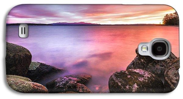 Sunrise On Lake Winnipesaukee Galaxy S4 Case