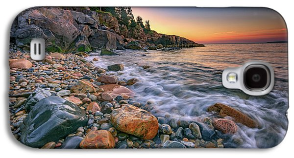 Sunrise On Little Hunters Beach Galaxy S4 Case by Rick Berk