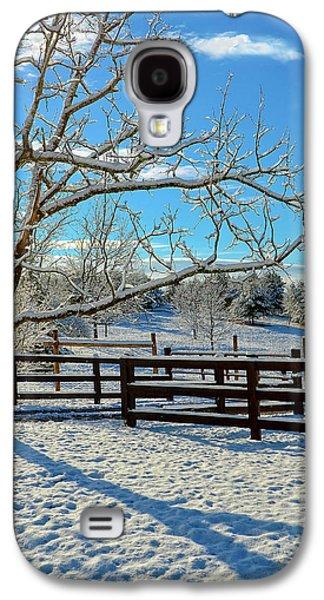 Sunrise On The Farm Galaxy S4 Case by Susan Leggett