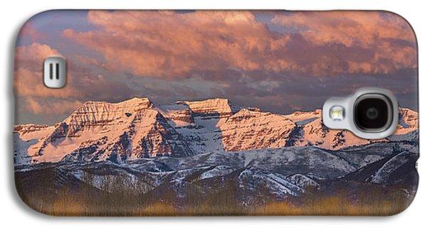 Sunrise On Timpanogos Galaxy S4 Case