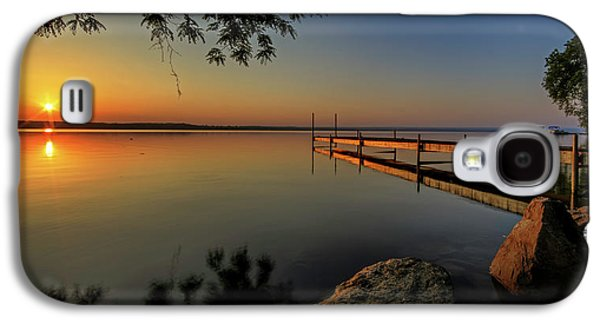 Sunrise Over Cayuga Lake Galaxy S4 Case by Everet Regal