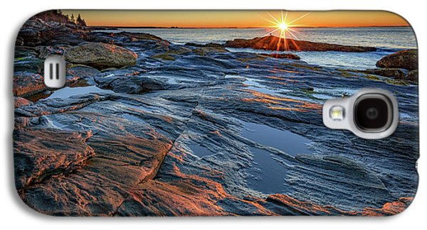 Sunrise Over Muscongus Bay Galaxy S4 Case by Rick Berk