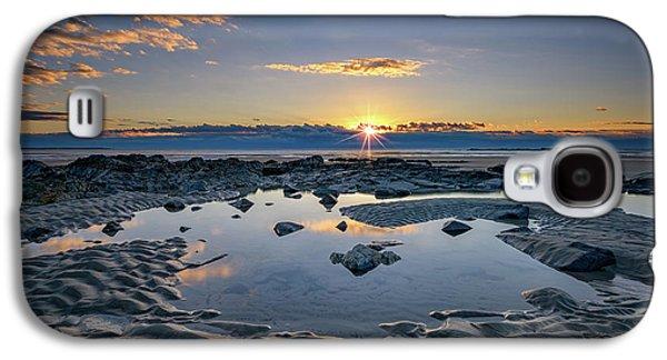 Sunrise Over Wells Beach Galaxy S4 Case
