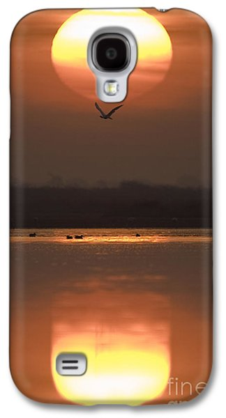 Sunrise Reflection Galaxy S4 Case