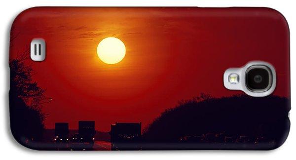 Sunrise Rush Hour Galaxy S4 Case by Eduard Moldoveanu