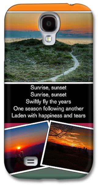 Sunrise Sunset Galaxy S4 Case