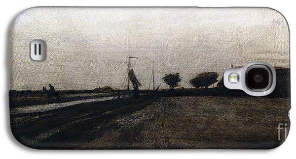 Sunrise Galaxy S4 Case by Vincent Van Gogh