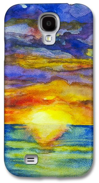 Sunset 1 Galaxy S4 Case by Suzette Kallen