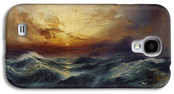 Sunset After A Storm Galaxy S4 Case by Thomas Moran