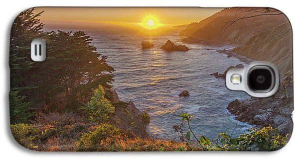 Sunset Along Highway 1 Big Sur California Galaxy S4 Case by Scott McGuire