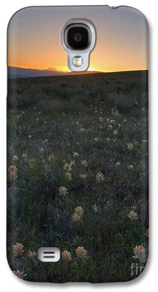 Sunset And Clover Galaxy S4 Case by Mike Dawson