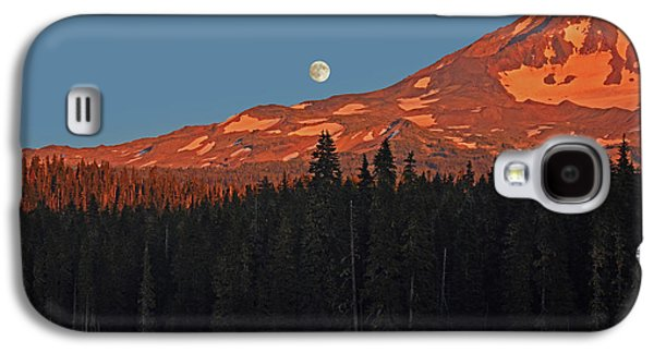Sunset And Sunrise At Mt Adams Galaxy S4 Case