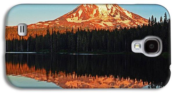 Sunset And Sunrise Mt Adams Galaxy S4 Case