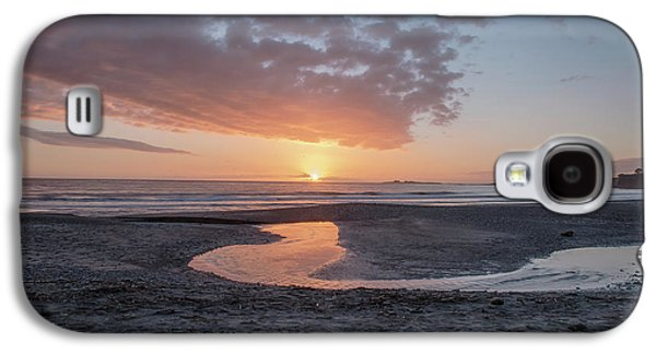 Sunset At Ano Nuevo Galaxy S4 Case by Bill Roberts