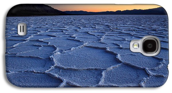 Sunset At Badwater In Death Valley Galaxy S4 Case