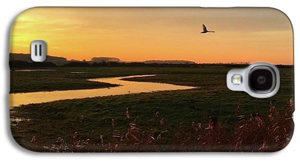 Sky Galaxy S4 Case - Sunset At Holkham Today  #landscape by John Edwards