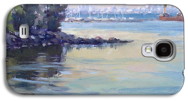 Sunset At Lake Ontario  Galaxy S4 Case by Ylli Haruni