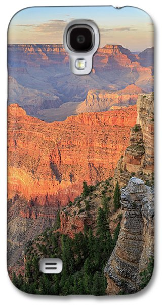Galaxy S4 Case featuring the photograph Sunset At Mather Point by David Chandler
