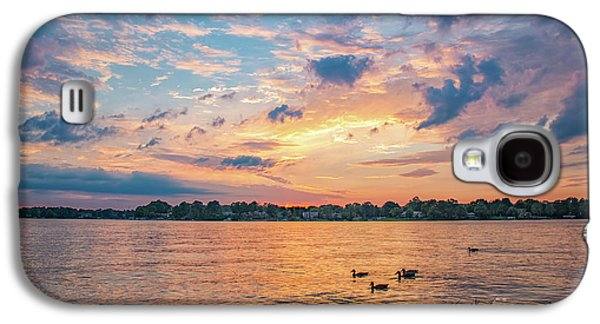 Sunset At Morse Lake Galaxy S4 Case