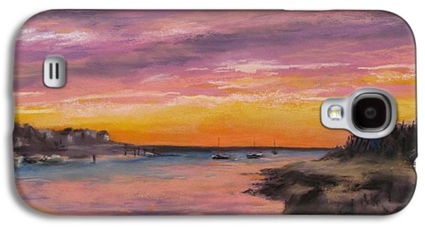Sunset At Sesuit Harbor Galaxy S4 Case by Jack Skinner