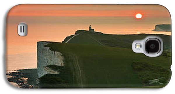 Sunset At The Belle Tout Lighthouse Galaxy S4 Case