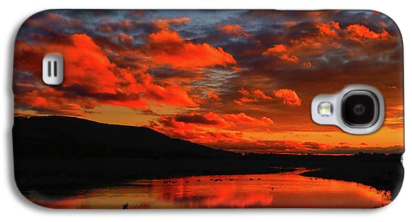 Sunset At Wallkill River National Wildlife Refuge Galaxy S4 Case
