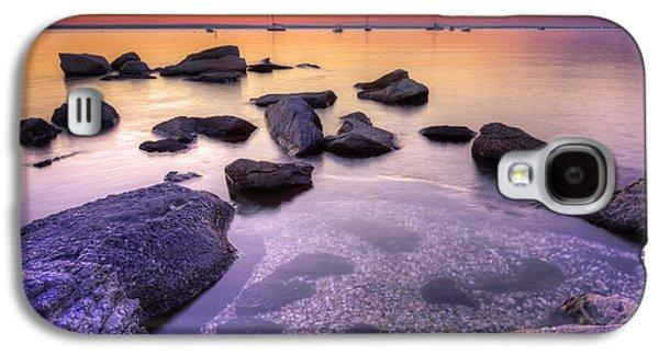 Sunset Beach Galaxy S4 Case by Juli Scalzi