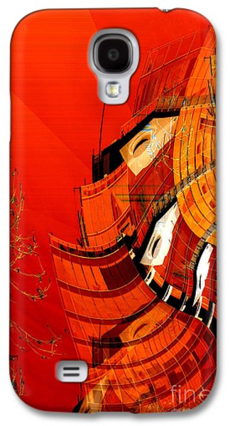 Sunset Building Galaxy S4 Case