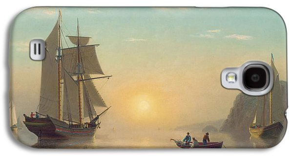 Sunset Calm In The Bay Of Fundy Galaxy S4 Case by William Bradford