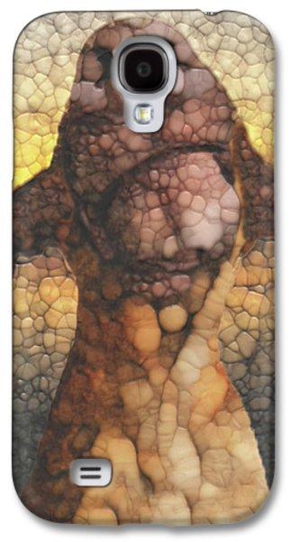 Sunset Dog Galaxy S4 Case by Jack Zulli