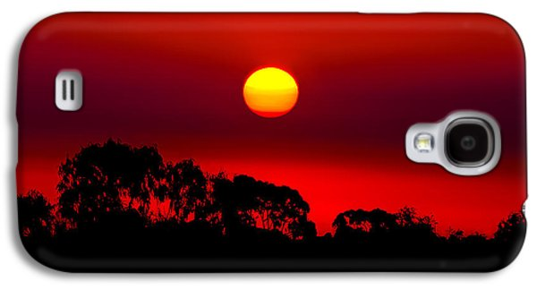 Sunset Dreaming Galaxy S4 Case by Az Jackson