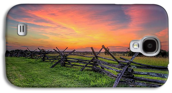 Sunset Fence Galaxy S4 Case
