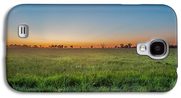 Sunset Fields Galaxy S4 Case by Az Jackson