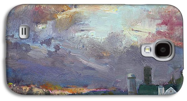 Sunset In A Troubled Weather Galaxy S4 Case by Ylli Haruni