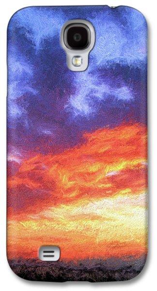 Sunset In Carolina Galaxy S4 Case