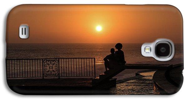 Sunset In Cerritos Galaxy S4 Case