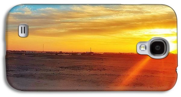 Sunset In Egypt Galaxy S4 Case