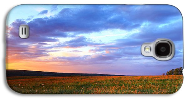 Ithaca Galaxy S4 Cases - Sunset in Ithaca South Hill Galaxy S4 Case by Paul Ge