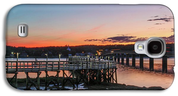 Sunset In Maine Galaxy S4 Case