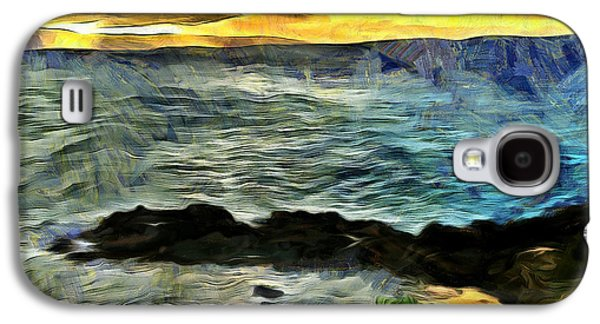 Sunset In The Cove Galaxy S4 Case