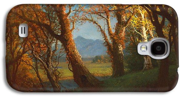 Sunset In The Nebraska Territory Galaxy S4 Case by Albert Bierstadt