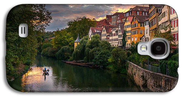 City Sunset Galaxy S4 Case - Sunset In Tubingen by Dmytro Korol