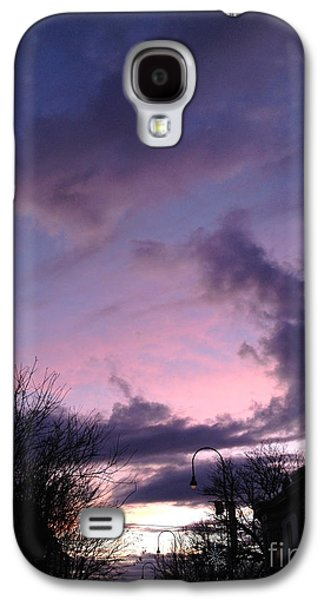 Sunset In Winter Skies  Galaxy S4 Case by Clay Cofer