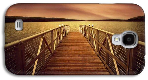 Sunset Dock Galaxy S4 Case