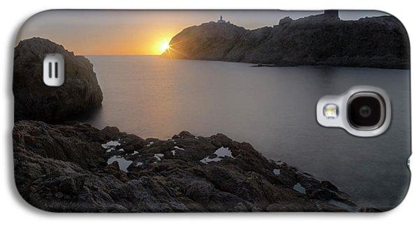 sunset L'Ile Rousse - Corsica Galaxy S4 Case
