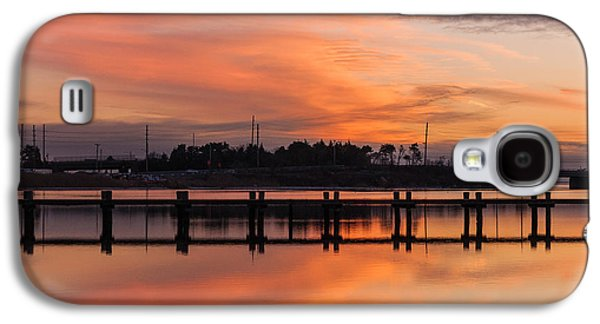 Sunset Lines Galaxy S4 Case