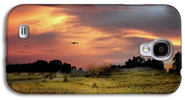 Sunset Meadow Galaxy S4 Case