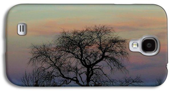 Sunset Moon Galaxy S4 Case
